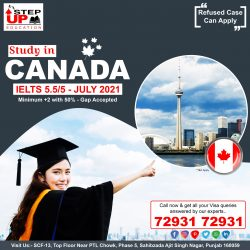 CANADA Student Visa with IELTS 5.5/5 Band
