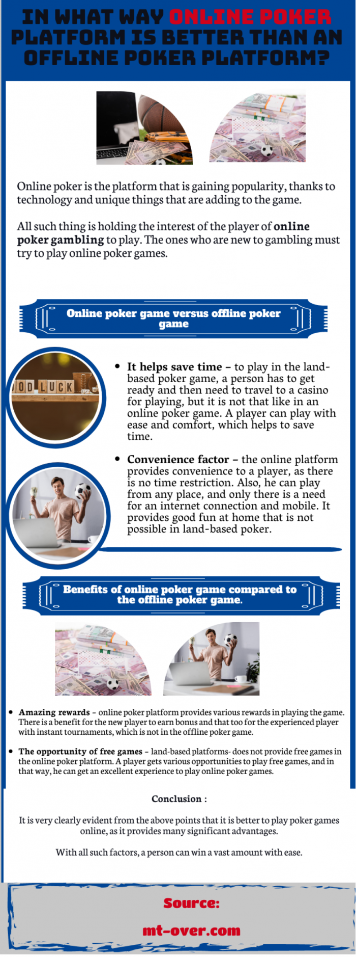 Soccer gambling-Win An Online Poker Match