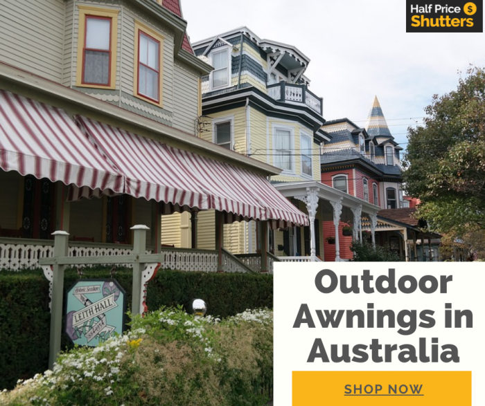Best Outdoor Awnings in Australia