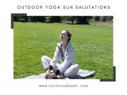 Outdoor Yoga Sun Salutations