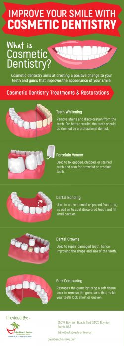Restore Your Smile with Cosmetic Dentistry Procedures in Boynton Beach, FL from Palm Beach Smiles