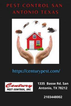 Pest Control San Antonio Texas – Century Pest Control