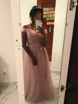 Prinzessin Normale Taille Tüll Abendkleid mit Gürtel ohne Ärmeln – MeKleid.de