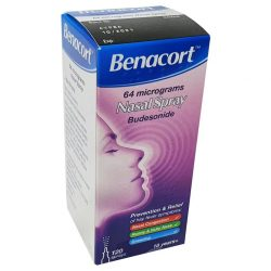 Buy Benacort Nasal Spray 64 micrograms Budesonide   online epxress medicines