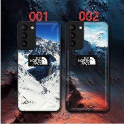 ザ・ノース・フェイス iphone 13/12 galaxy s21+ ultraケースカバー ブランド