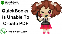 How to fix QuickBooks is Unable To Create PDF or Won't Print PDF Error?