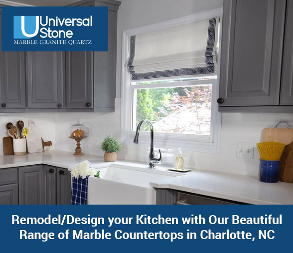Remodel/Design your Kitchen with Our Beautiful Range of Marble Countertops in Charlotte, NC