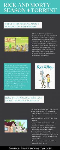 Rick And Morty Season 4 Torrent