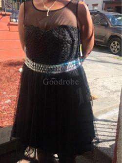 Robe de bal de princesse lache avec perle a-ligne textile en tulle – GoodRobe