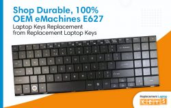Shop Durable, 100% OEM eMachines E627 Laptop Keys Replacement from Replacement Laptop Keys