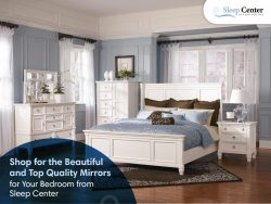 Shop for the Beautiful and Top Quality Mirrors for Your Bedroom from Sleep Center