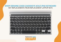 Shop Genuine Zagg ZaggKeys SOLO iPad Keyboard Key Replacements from Replacement Laptop Keys