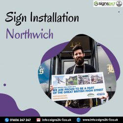 Sign Installation Northwich