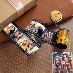 Custom Photo Keychain MultiPhoto Camera Roll Keychain For Best Friends