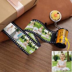 Custom Photo Keychain MultiPhoto Camera Roll Keychain For Baby