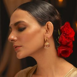 Shop the latest collection of antique jhumkas from Tarinika