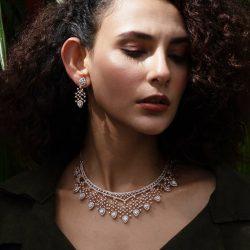Shop the latest sparkling designs of CZ sets online