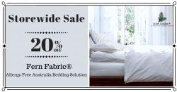 Storewide Sale 20% OFF | Allergy Free Australia Bedding Solution – Fern Fabric®