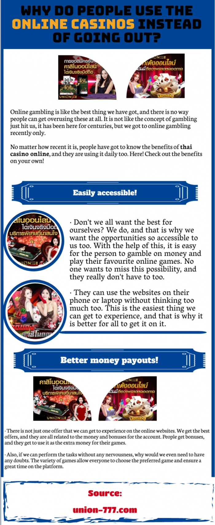 Thai Casino-Play different games daily