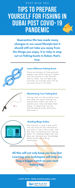 Tips To Prepare Yourself For Fishing In Dubai Post Covid-19 Pandemic