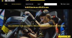 race car simulator for sale