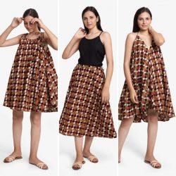 Convertible clothing – 3-way dress | Transformation