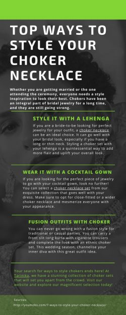 Top Ways to Style Your Choker Necklace