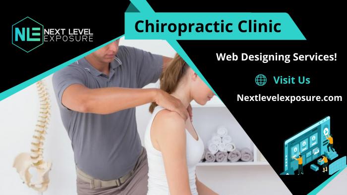 Professional Website for Chiropractic Practice