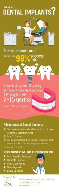 West Texas General Dentistry – Excellent Implant Dentistry in Dimmitt, TX