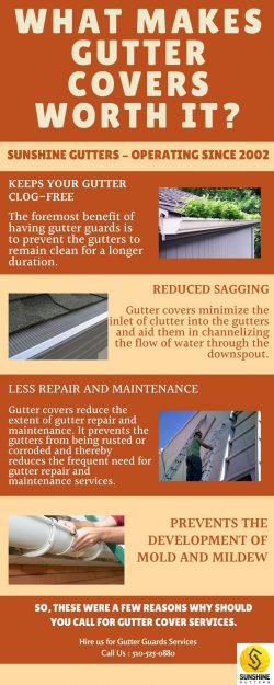 What Makes Gutter Covers Worth It?