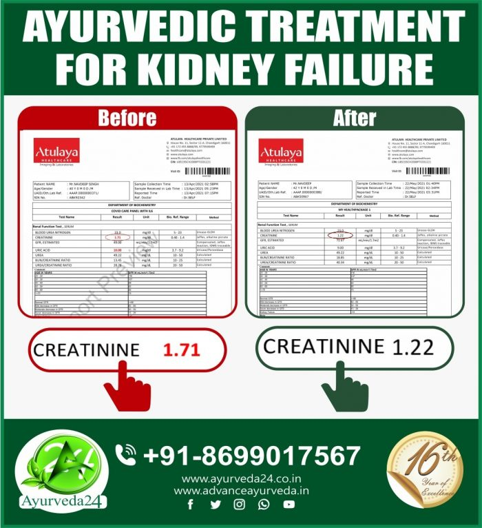 One More Success Story with One of Our Kidney Failure Patients. Many More to Come