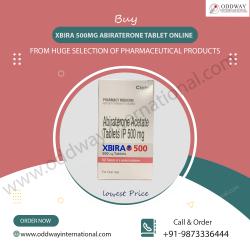 Cancer Medicine Xbira 500mg Abiraterone Tablet