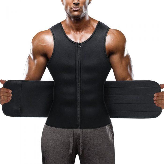 Eleady Men Adjustable Sweat Tank Top