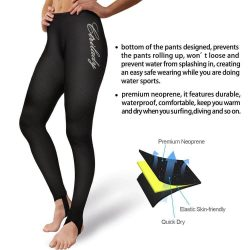ELEADY Women's Wetsuit Neoprene Pants for Workout Swimming Surfing Diving