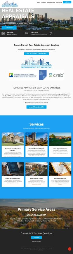 Real estate appraisal service calgary