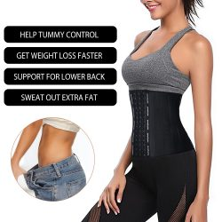 Strong Compression Breathable Latex Waist Trainer
