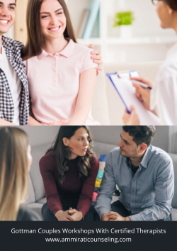 Get The Best Couples Workshops With the Gottman Certified Therapist