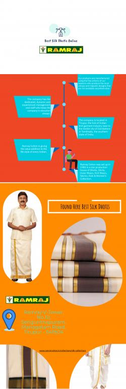Buy Silk Dhoti Online for Men
