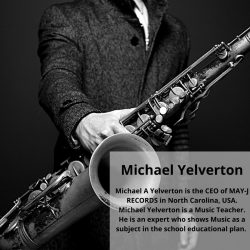 Michael Yelverton is a vibrant and energetic singer