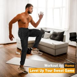 Eleady Workout Running Lightweight Sports Sweatpants