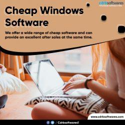 Cheap Windows Software