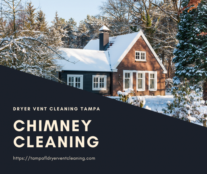 When you require a chimney cleaning service?