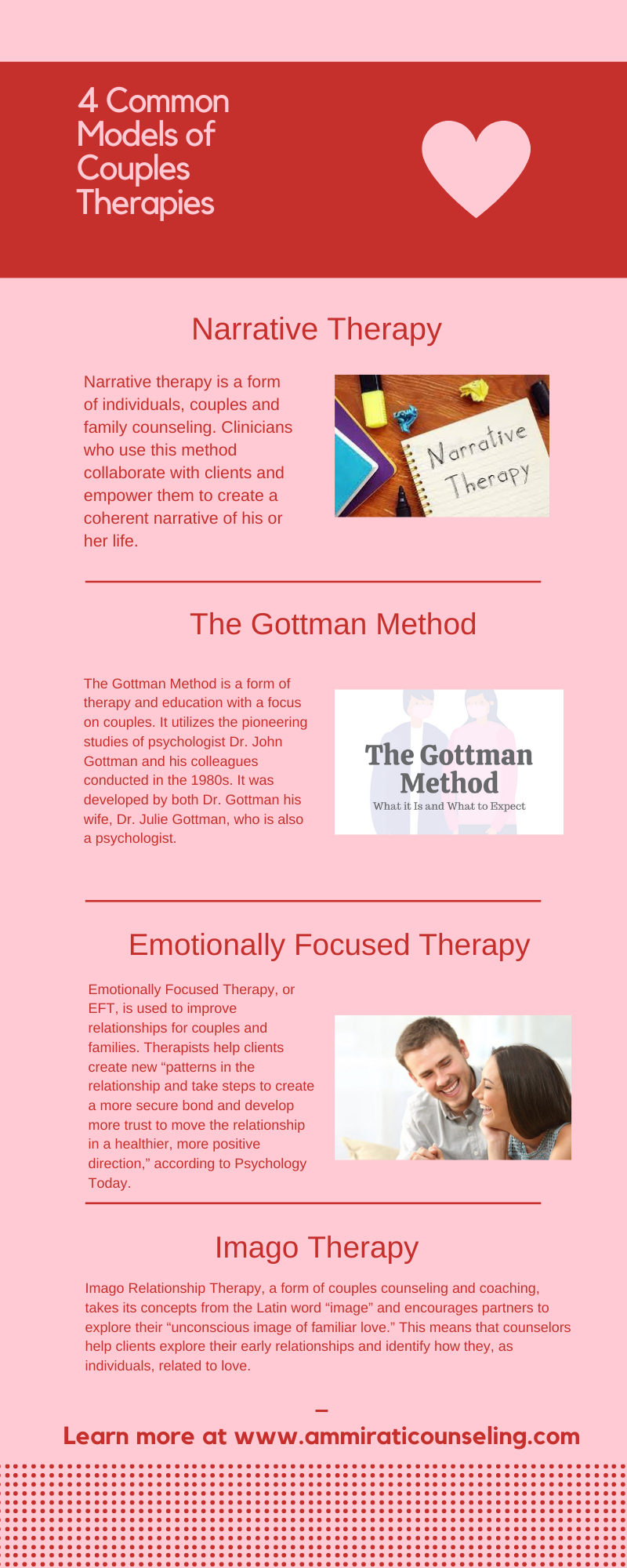 4 Common Models of Couples Therapies