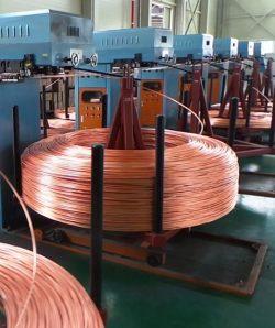 Continuous Cast Copper Wire Rod