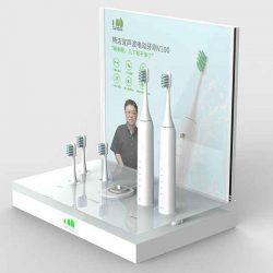 Counter Electric Toothbrush Acrylic Display Rack