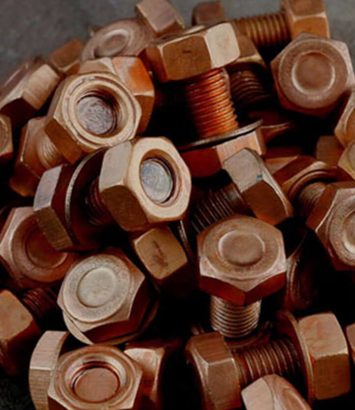 Copper Nickel 90/10 Fasteners