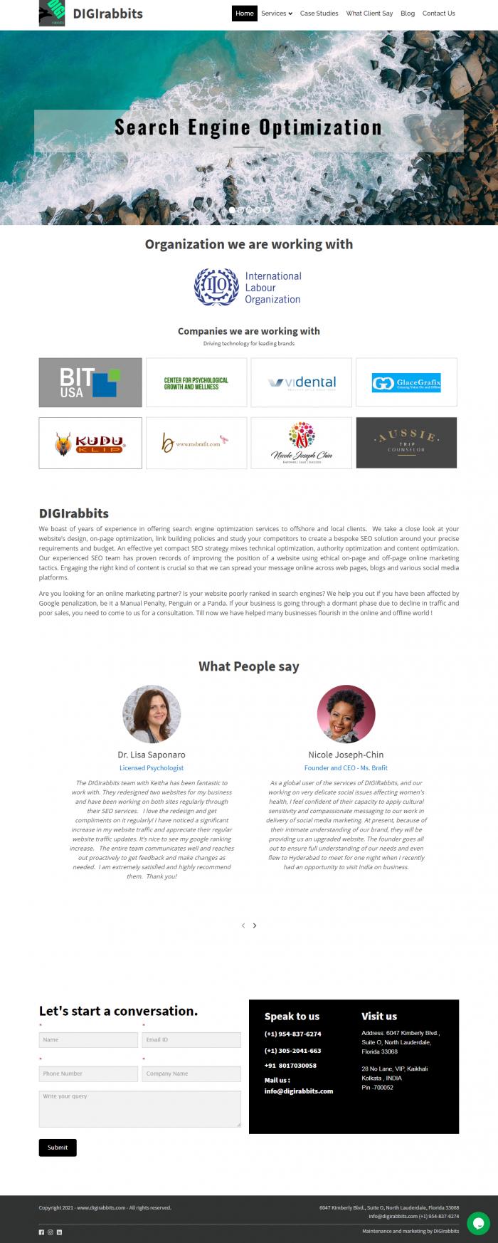 Web Development & Web Design   DIGIRabbits
