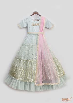 Buy anarkali dress for kids online