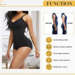 Women Latex Body Shaper Tummy Control