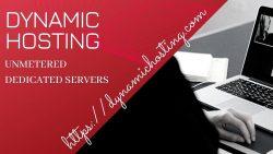 Dedicated Server Hosting -Dynamic Hosting